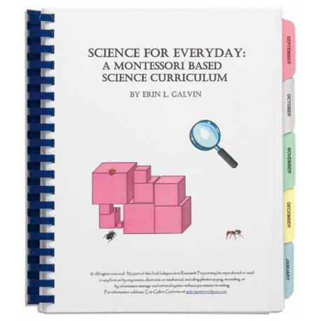 Science For Everyday: A Montessori Based Science Curriculum  Montessori guides books