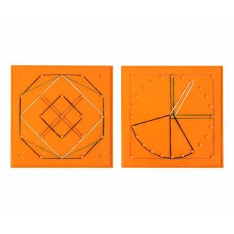 Geoplano círculo/cuadrado