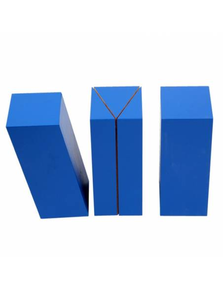 Bloques azules de volumen  Geometría y Álgebra