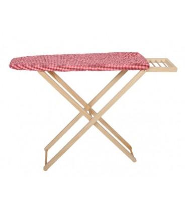 Tabla de planchar en madera para niños