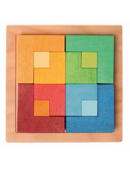 Puzzle mil formas Grimm's con PLANTILLAS  Juguetes
