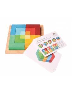 Puzzle mil formas Grimm's con PLANTILLAS