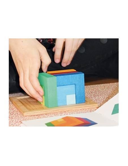 Puzzle mil formas Grimm's con PLANTILLAS  Juegos de mesa