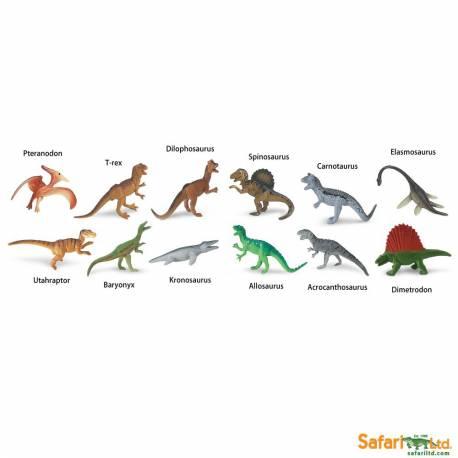 Dinosaurios Carnivoros En Miniatura Montessori Para Todos ¡sólo añade un nombre a estas preciosas bolsitas! dinosaurios carnivoros