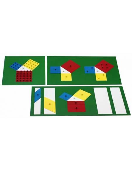 Teorema de pitágoras Montessori  Geometría y Álgebra