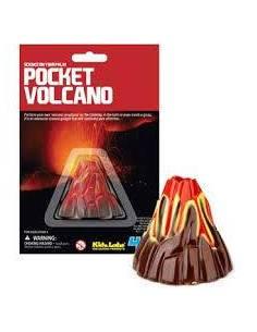 Mini volcán