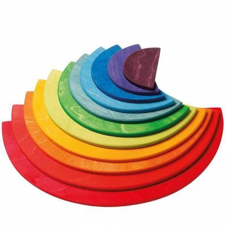 Semicírculos arcoiris
