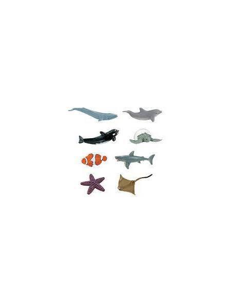 Minis oceano  Miniaturas de Safari