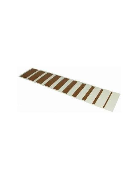 Tarjetas Escalera marrón  Sensorial Montessori