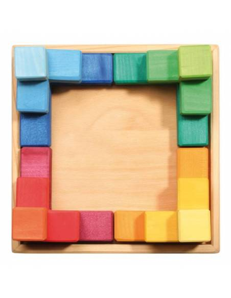 Puzzle mil formas Grimm's con plantillas GRANDE