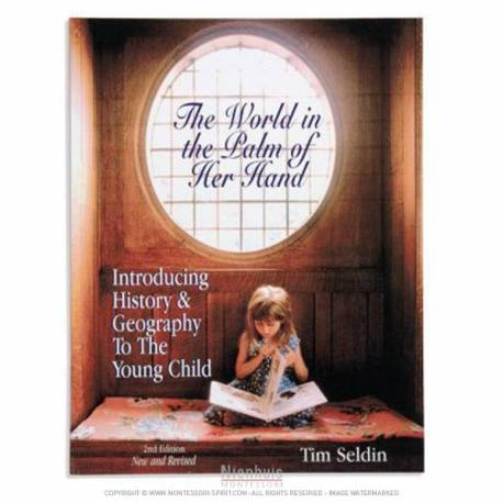 The world in the Palm of her hand  Montessori guides books