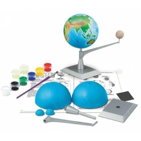 Crea y modela la Tierra - Luna