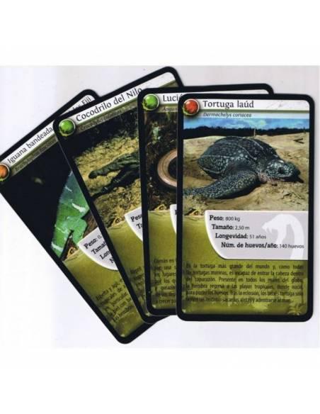 Bioviva - Cartas reptiles  Cartas Bioviva