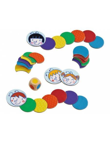 Oruga de Colores  De 1 a 3 años