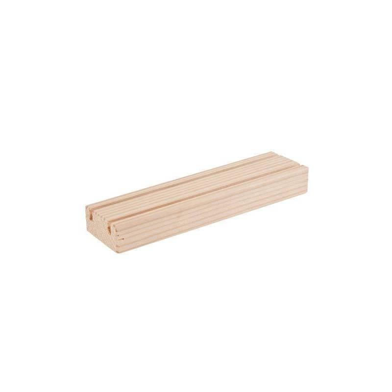 List n de madera con dos ranuras montessori para todos - Liston de madera ...
