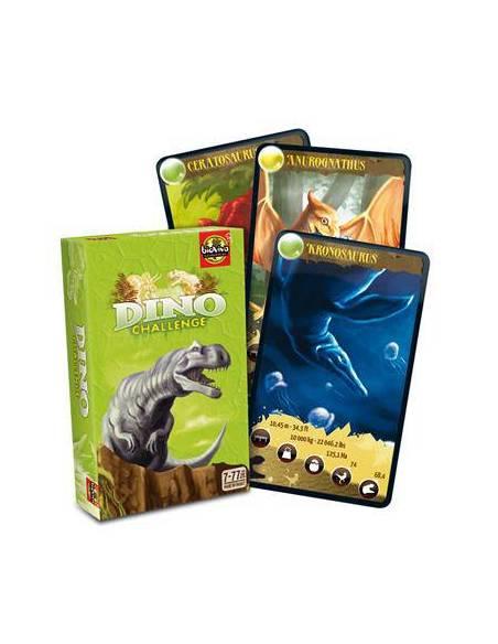 Bioviva -Cartas Dinosaurios - Verde  Cartas Bioviva