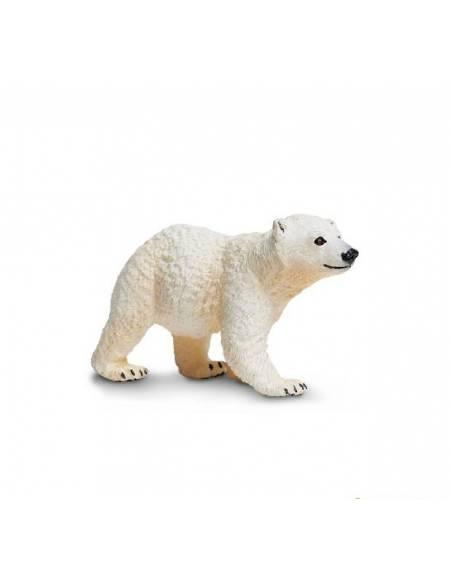 Cría oso polar  Animales Grandes