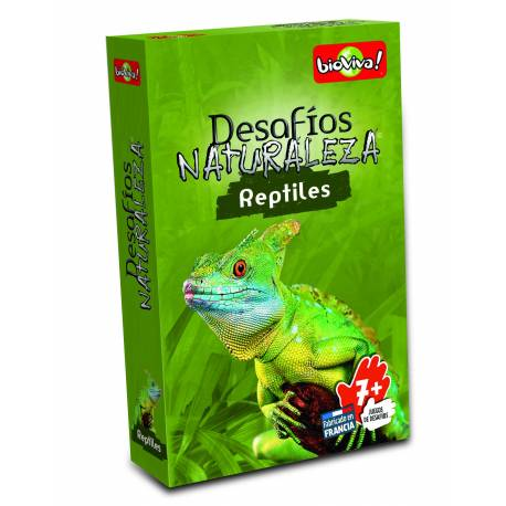 Bioviva - Cartas animales reptiles