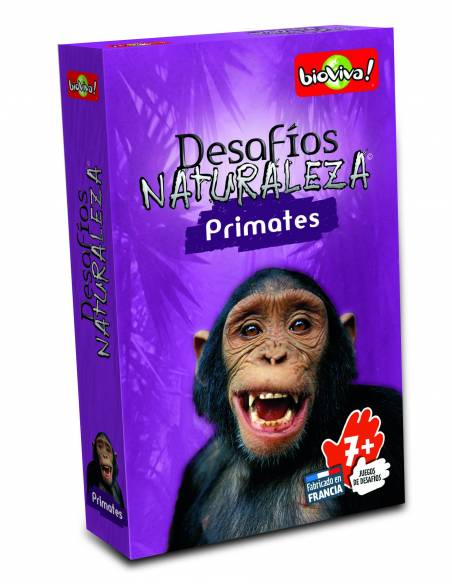 Bioviva- Cartas de primates  Cartas Bioviva