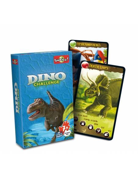 Bioviva -Cartas Dinosaurios - Azul  Juguetes