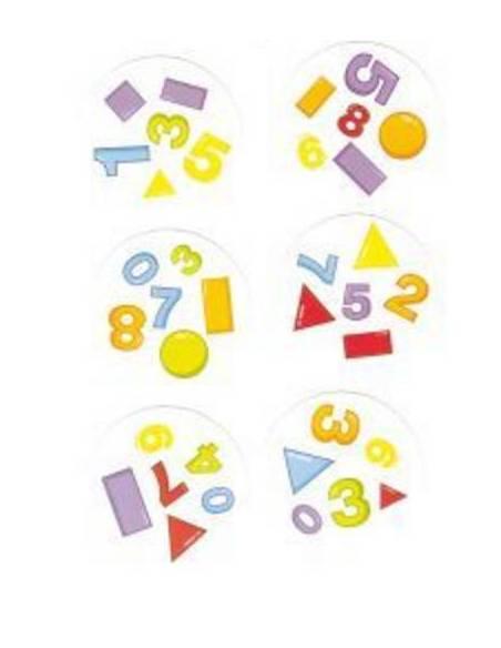 Dobble formas & números
