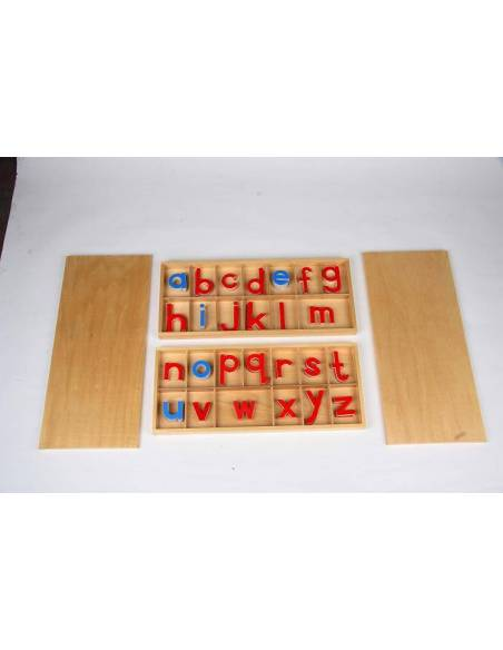 Abecedario móvil en imprenta GRANDE  Lenguaje Montessori