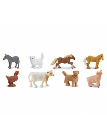 Minis Granja 2 (rancho)  Miniaturas de Safari