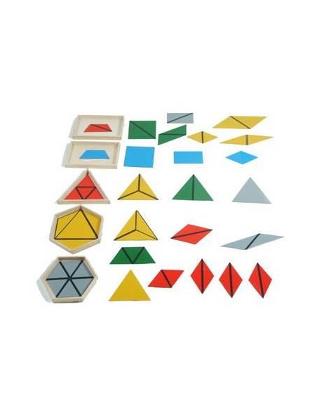 Triángulos constructivos (Pack 5 cajas)