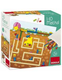 1-10 Maths, juego con regletas