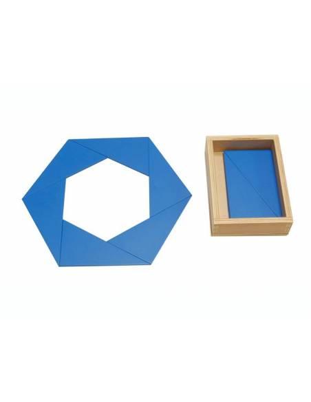 Triángulos azules