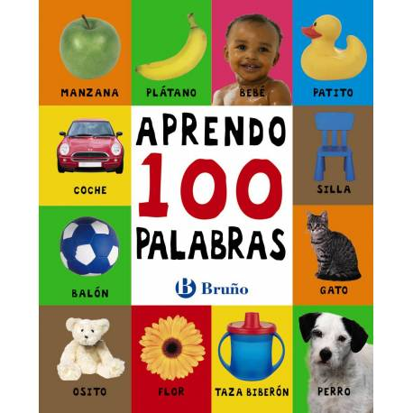Aprendo 100 palabras  Libros para bebés
