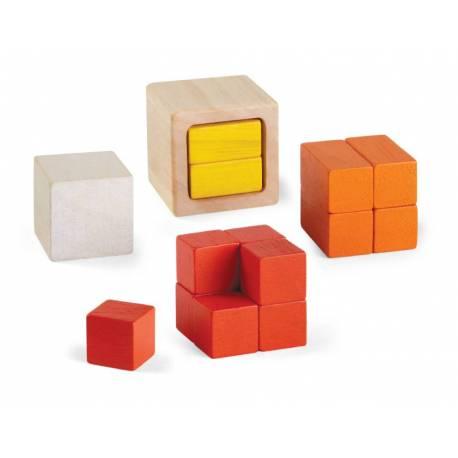 Plantoys fracciones de cubo