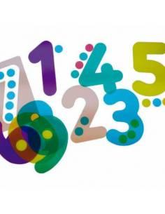 Siluetas de números