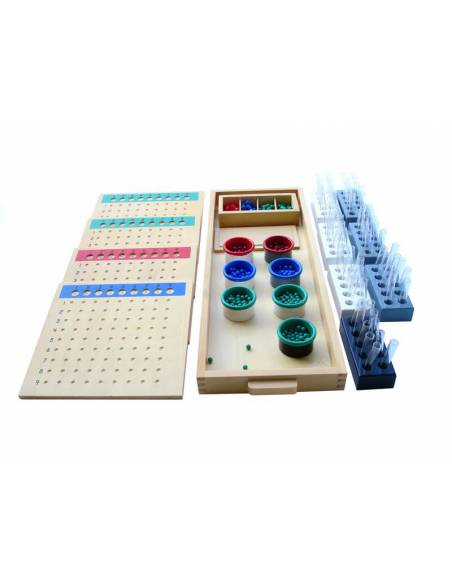 División larga  Material Montessori