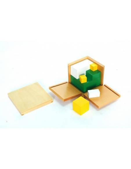Poder de 2 cubos  Geometría y Álgebra