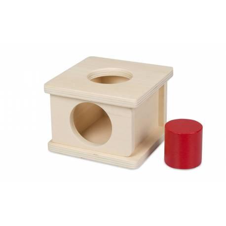 Caja de permanencia - Abierta cilindro