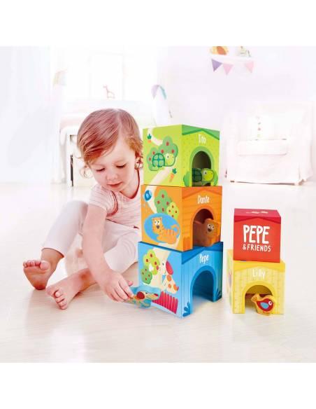 Torre de Casitas (Pepe y sus Amigos)  De 1 a 3 años