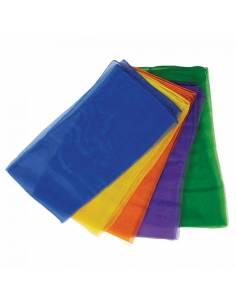 Pañuelos arcoiris con brillo