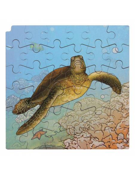 Puzzle de Madera Ciclo de la Tortuga