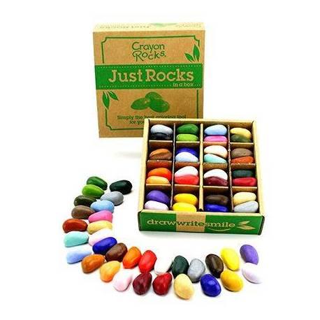 Crayon rocks - 64 uds