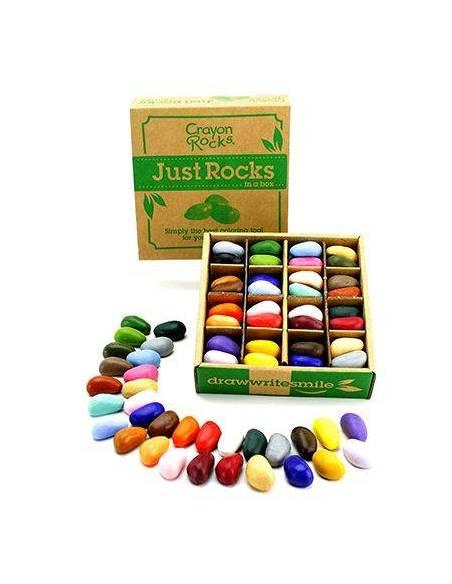 Crayon rocks - 64 uds (32 colores)  Juguetes Sensoriales