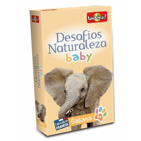 Bioviva - Cartas animales Sabana Bebés  Cartas Bioviva
