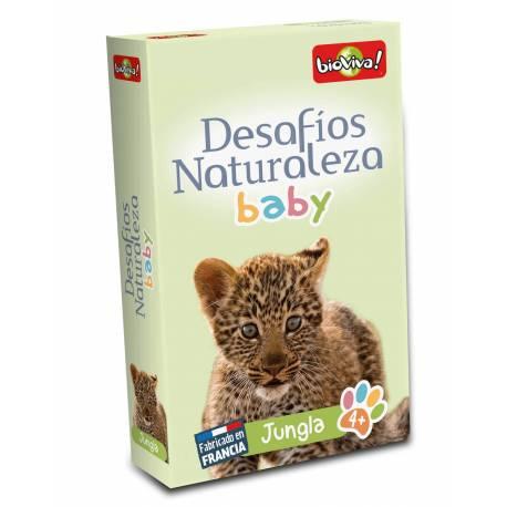 Bioviva - Cartas animales Jungla Bebés  Cartas Bioviva