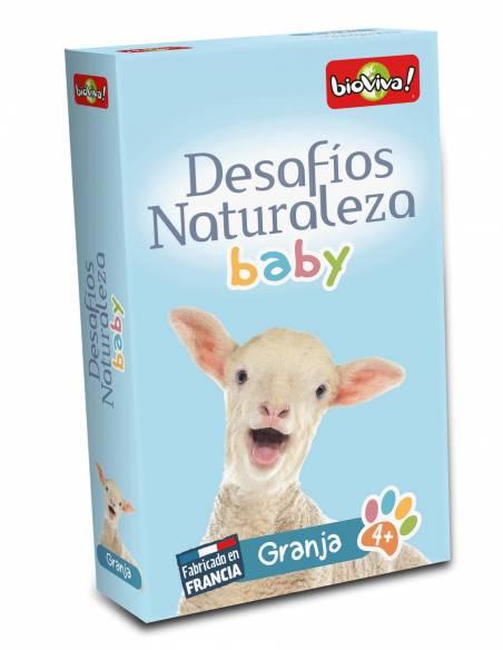 Bioviva - Cartas animales Granja Bebés  Cartas Bioviva