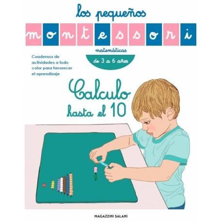 Pequeños Montessori - Calculo hasta el 10