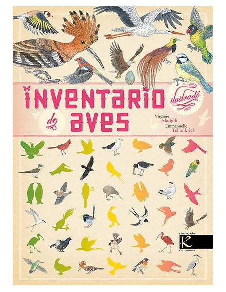 Inventario ilustrado de las aves  Libros con Imágenes Reales