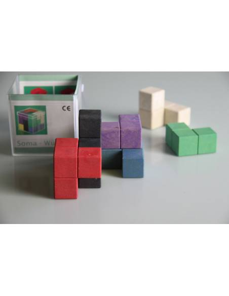 Cubo SOMA rewood color  Medidas, peso y volumen