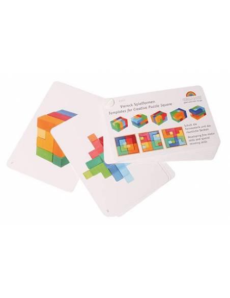 Plantillas Para Puzzle Mil Formas Grimms's  Puzzles y construcciones