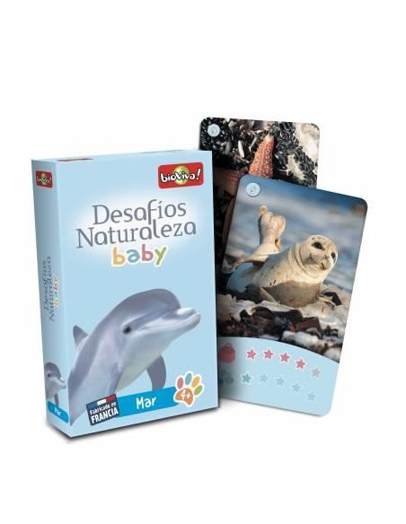 Bioviva - Cartas animales MAR Bebés  Juguetes