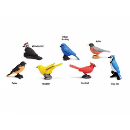 Pájaros de juguete